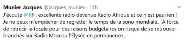RFI, Radio France Internationale Scree514