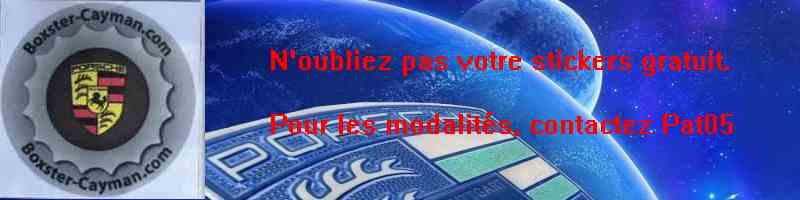 VENTE DE PIÈCES PORSCHE Stiker11