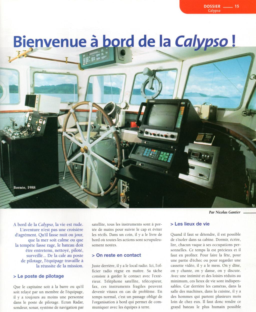 La Calypso au 1/50 ème Plan de l'AAMM Barre010