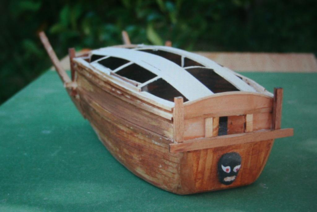 100) Le cuirassé du matin calme ou bateau-tortue par JJ 10_410