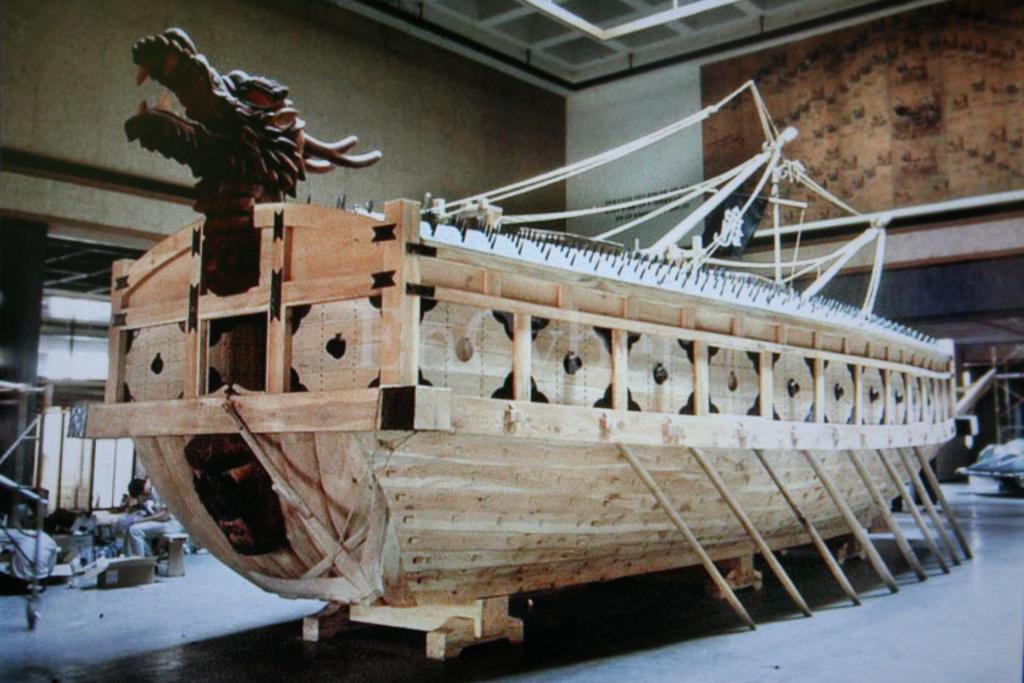 bateau tortue coréen,l'ancètre du cuirassé par JJ Img_0510