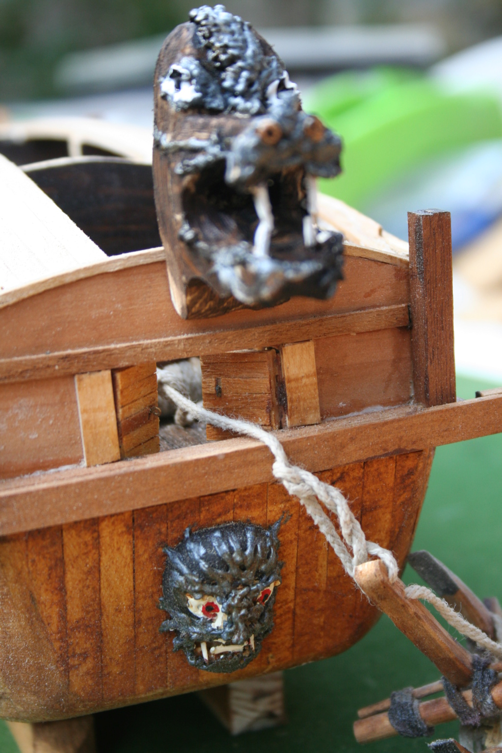 bateau tortue coréen,l'ancètre du cuirassé par JJ - Page 2 Img_2911