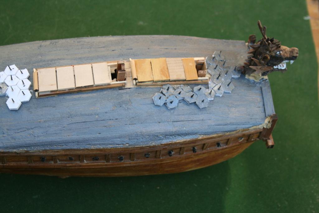 bateau tortue coréen,l'ancètre du cuirassé par JJ - Page 2 Img_2938