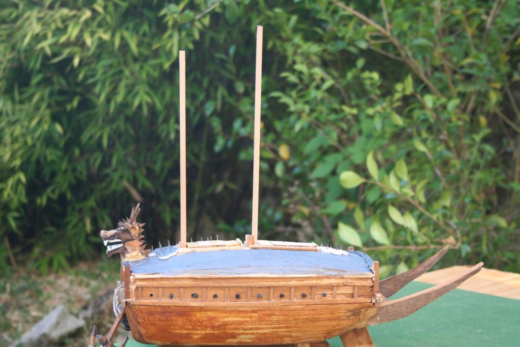 bateau tortue coréen,l'ancètre du cuirassé par JJ - Page 2 Img_2939