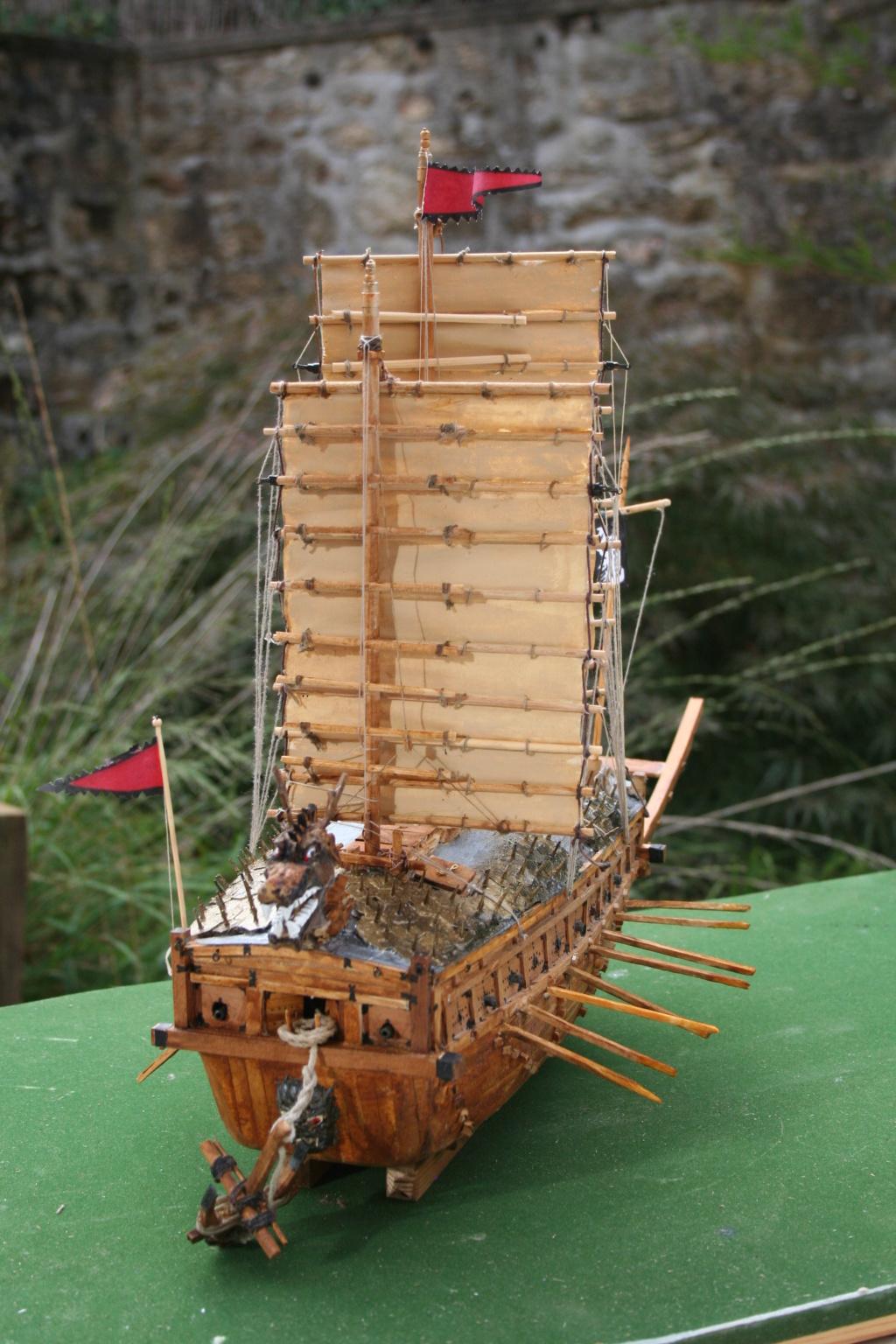 bateau tortue coréen,l'ancètre du cuirassé par JJ - Page 4 Img_3032