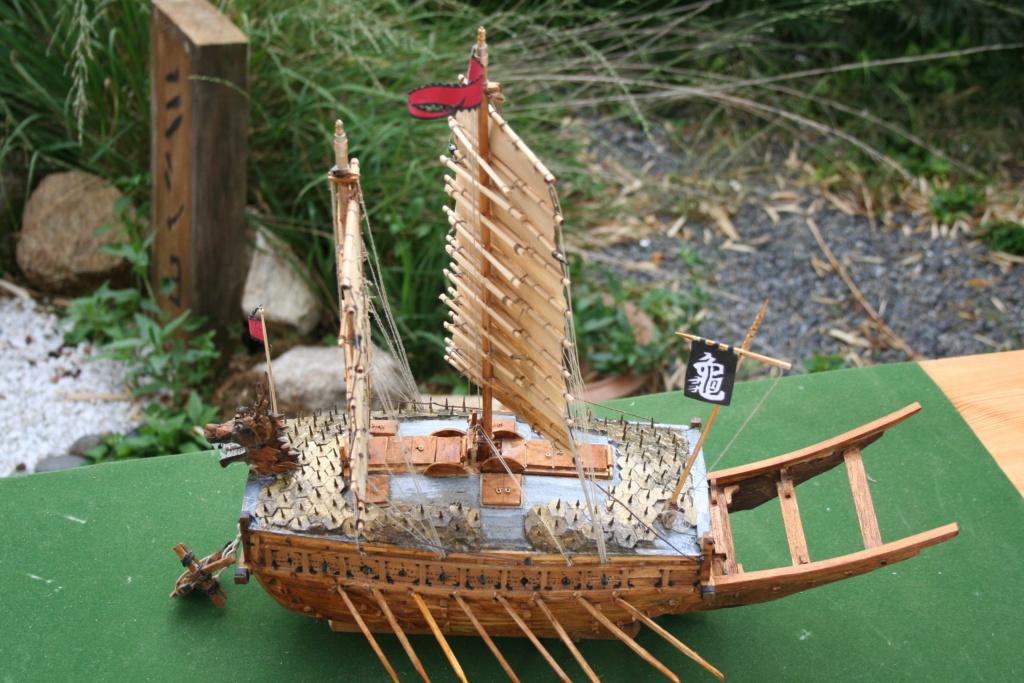 bateau tortue coréen,l'ancètre du cuirassé par JJ - Page 4 Img_3035