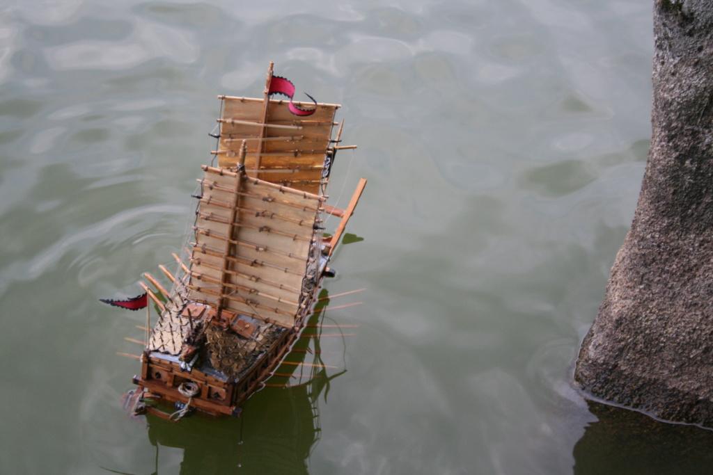 bateau tortue coréen,l'ancètre du cuirassé par JJ - Page 4 Img_3057