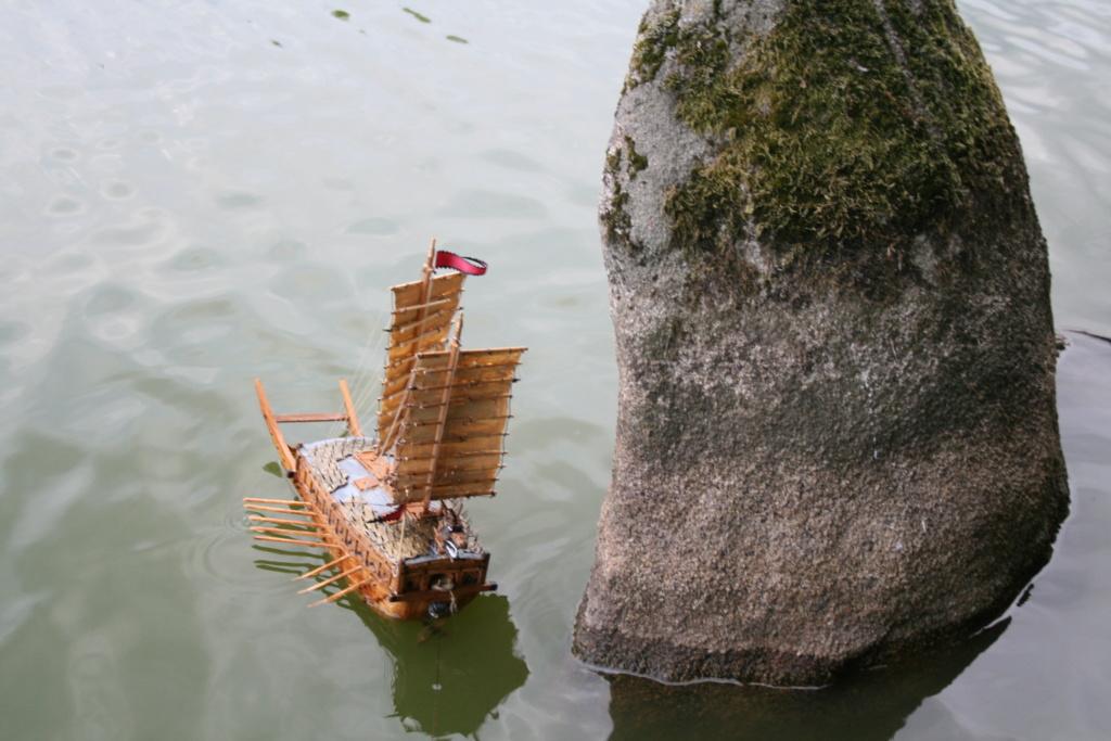 bateau tortue coréen,l'ancètre du cuirassé par JJ - Page 4 Img_3059