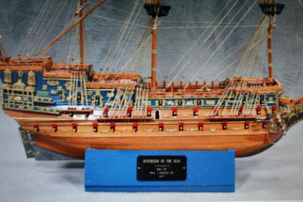 """Construction du """"Sovereign of the Seas"""" au 1/84 par Glénans - Partie II - Page 38 Img_3231"""