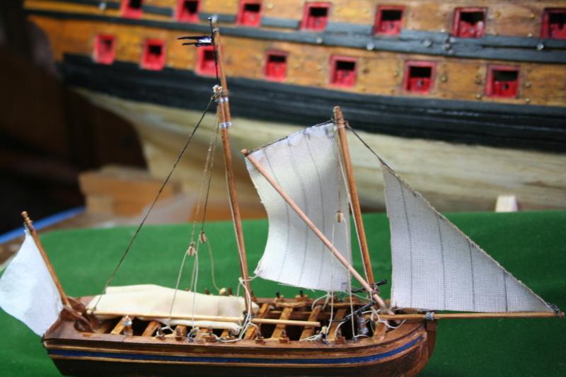111 chaloupe armée et petit canot de l' Ambitieux 1690 par JJ Img_6918