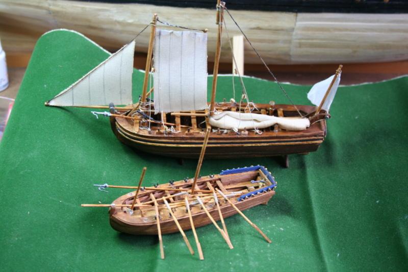 111 chaloupe armée et petit canot de l' Ambitieux 1690 par JJ Img_6919