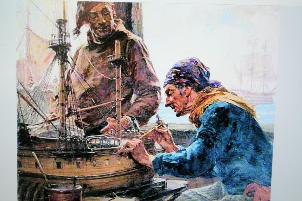 """Construction du """"Sovereign of the Seas"""" au 1/84 par Glénans - Partie III - Page 5 Img_7357"""
