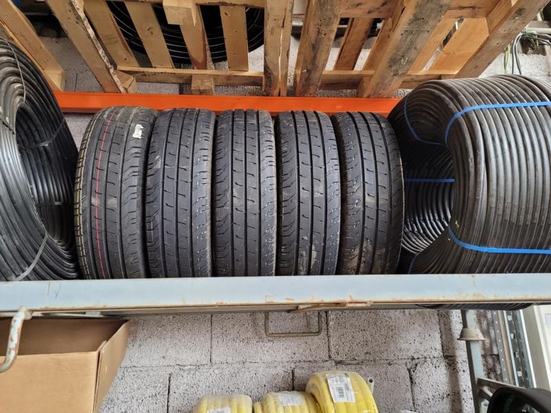 5 pneus neufs de crafter été continental 205/75 16C 113/111R 20210210