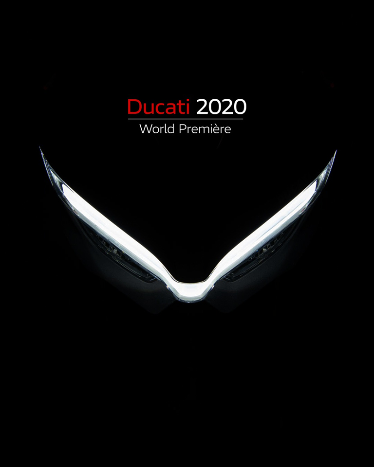 Ducati World Premiere 2020 - 23 octobre 2019 : Save the date ! 72704710