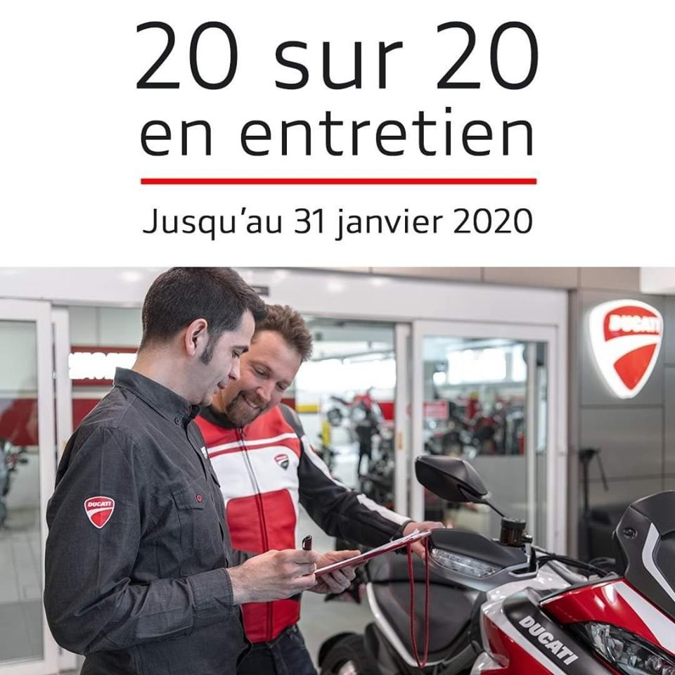 OPERATION BILAN DE SANTE DUCATI 2019/2020  77315910