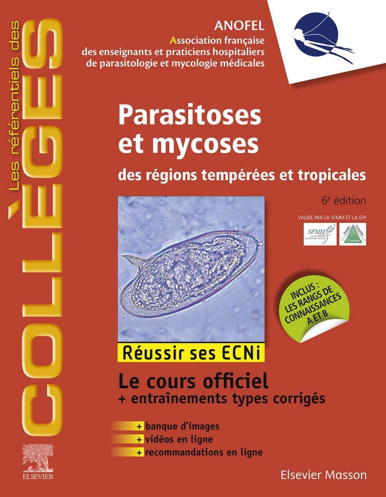 Référentiel Collège de Parasitoses et mycoses des régions tempérées et tropicales novembre 2019 - Page 3 Parasi10