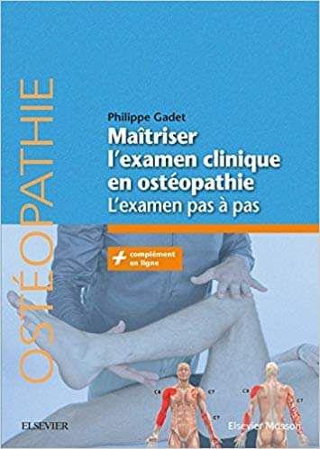 Maîtriser L'examen Clinique en Ostéopathie  L'examen Pas à Pas  2018 Photo_16