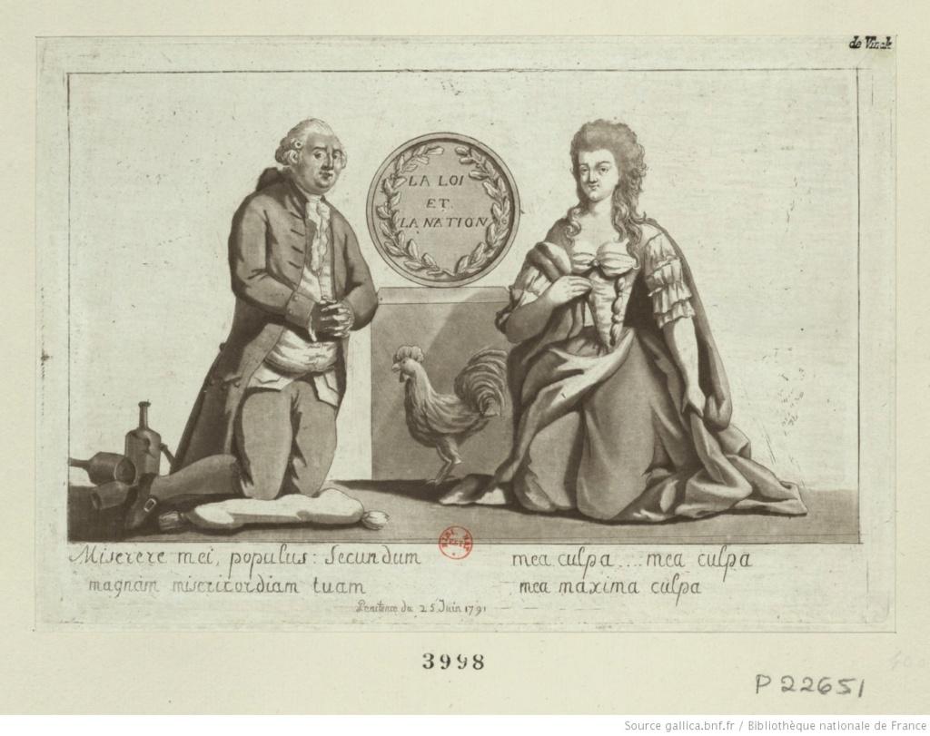 Les rois et reines caricaturés, les caricatures à l'époque de la Révolution française et de la Restauration - Page 6 1126
