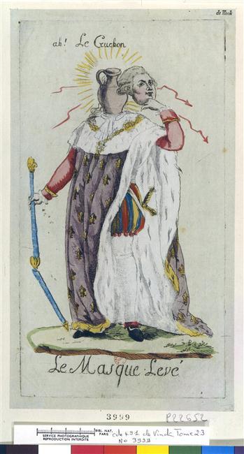 Les rois et reines caricaturés, les caricatures à l'époque de la Révolution française et de la Restauration - Page 6 1131