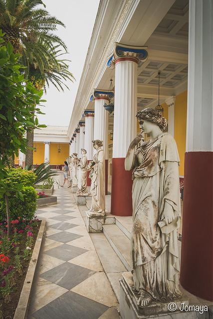 Achilleion, le palais de l'impératrice SISSI  1157