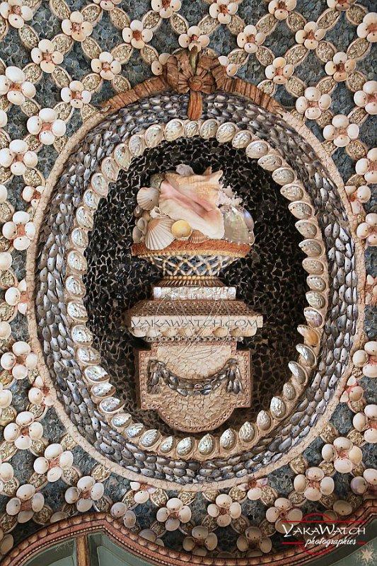 Antoine Maës :  La Chaumière aux Coquillages de Rambouillet 1197