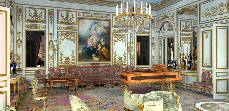 Exposition :  Les derniers feux du palais de Saint-Cloud 12483920