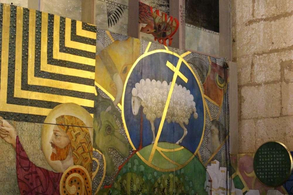 Saint-Emilion, la Fresque de l'Apocalypse 1291