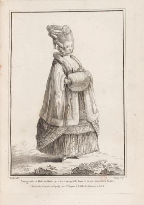 Galerie de portraits : Le manchon au XVIIIe siècle  - Page 2 130