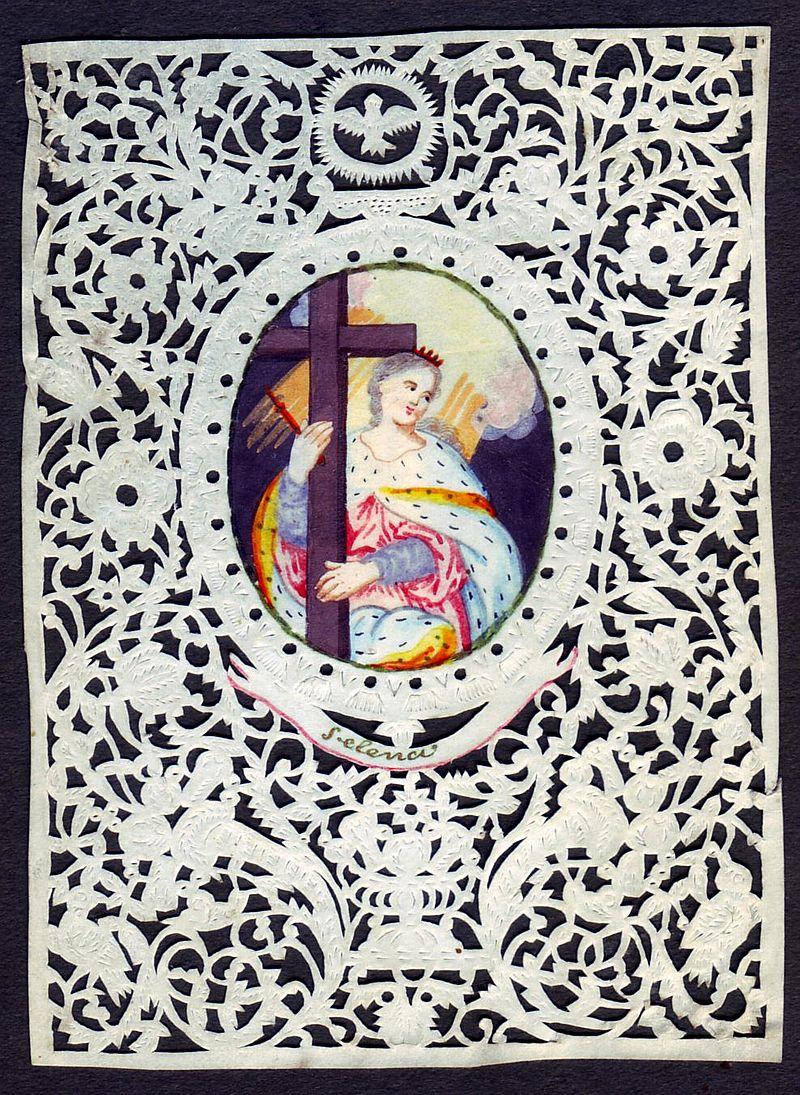 L'art des découpures au XVIIIe siècle : figures en papier découpé et canivets 1302