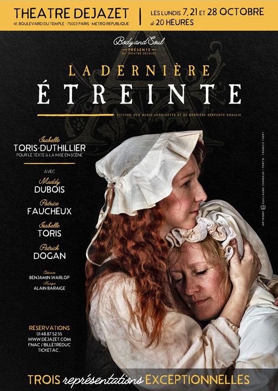 Théâtre : La dernière étreinte   - Page 2 1398