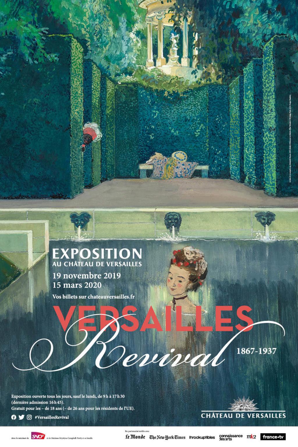Exposition au Château de Versailles :  Versailles Revival 1479