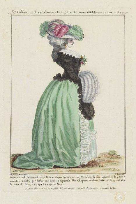 Galerie de portraits : Le manchon au XVIIIe siècle  - Page 3 1543