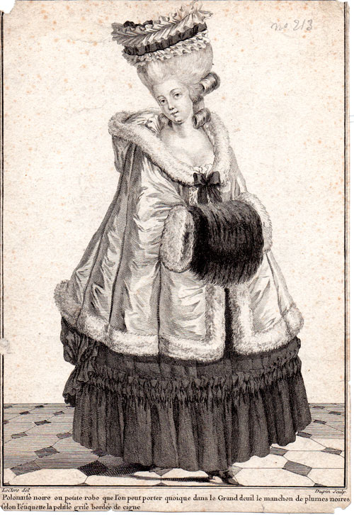 Galerie de portraits : Le manchon au XVIIIe siècle  - Page 3 1544
