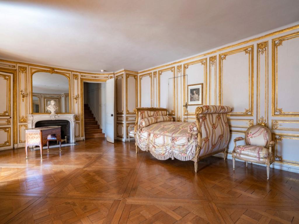 Restauration de l'appartement de Mme du Barry, à Versailles 16349510