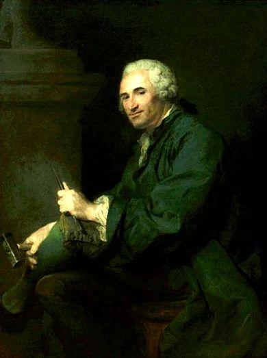 Le sculpteur Claude Michel, dit Clodion  (  1738 - 1814 ) 1821