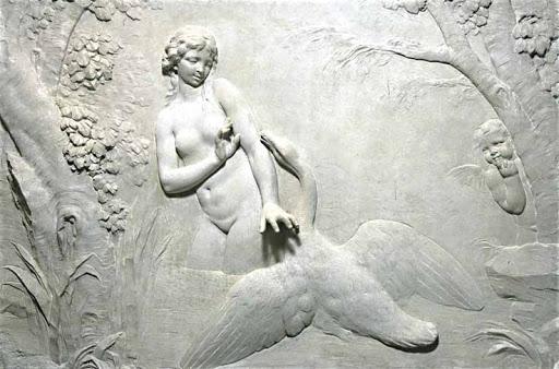Le sculpteur Claude Michel, dit Clodion  (  1738 - 1814 ) 1823