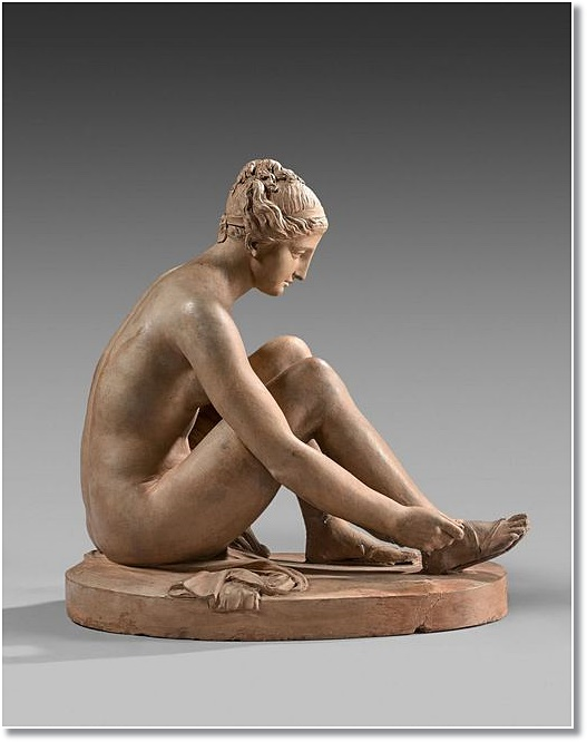 Le sculpteur Claude Michel, dit Clodion  (  1738 - 1814 ) 1824