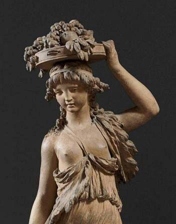 Le sculpteur Claude Michel, dit Clodion  (  1738 - 1814 ) 1825