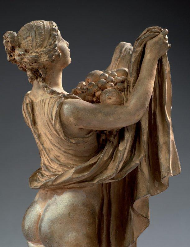 Le sculpteur Claude Michel, dit Clodion  (  1738 - 1814 ) 1827