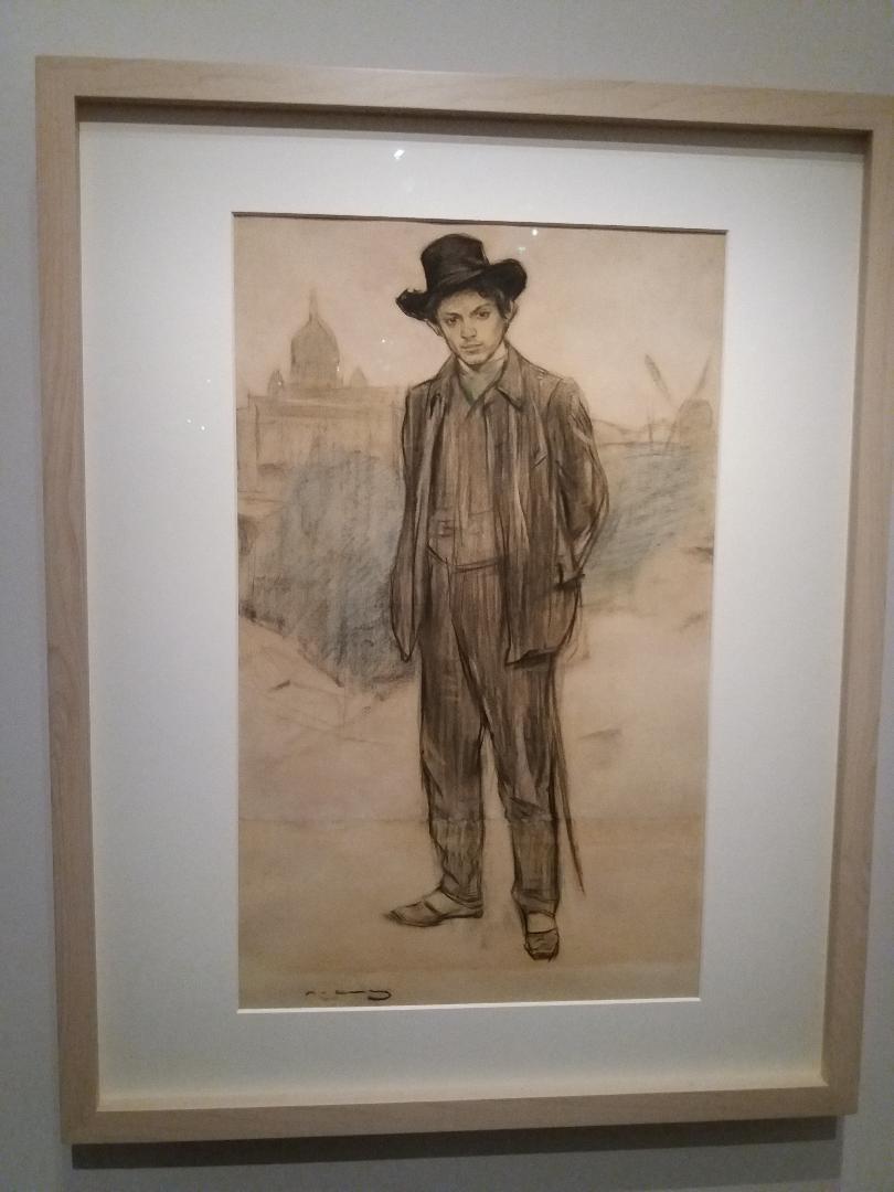 Exposition : Picasso Bleu et rose, à Orsay 1913