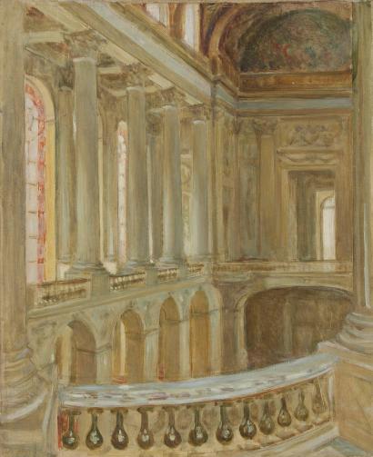 Henri de Nolhac, peintre de Versailles 1914