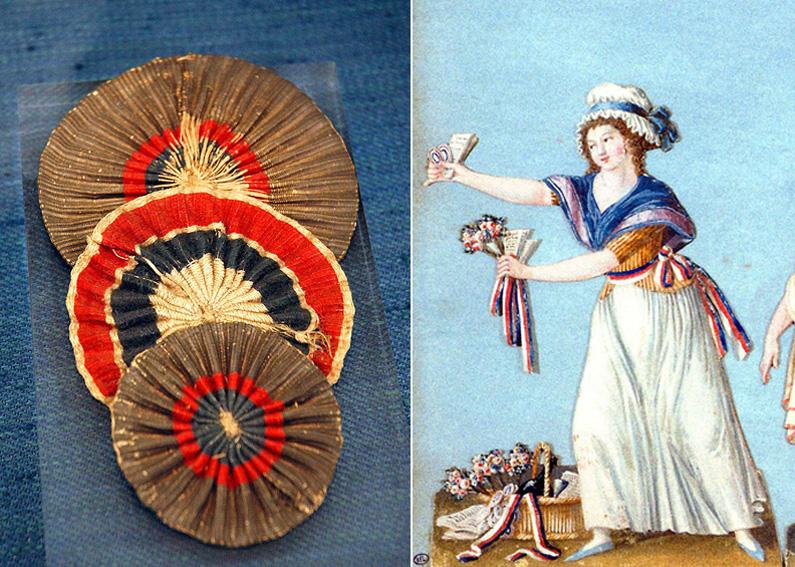 La cocarde tricolore française 2107
