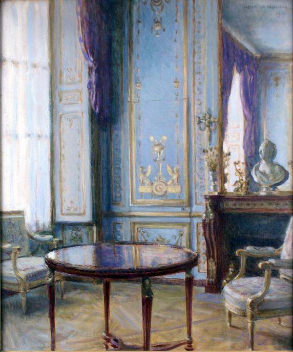 Henri de Nolhac, peintre de Versailles 2116