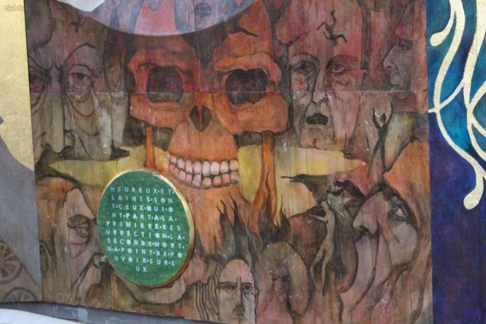 Saint-Emilion, la Fresque de l'Apocalypse 2150