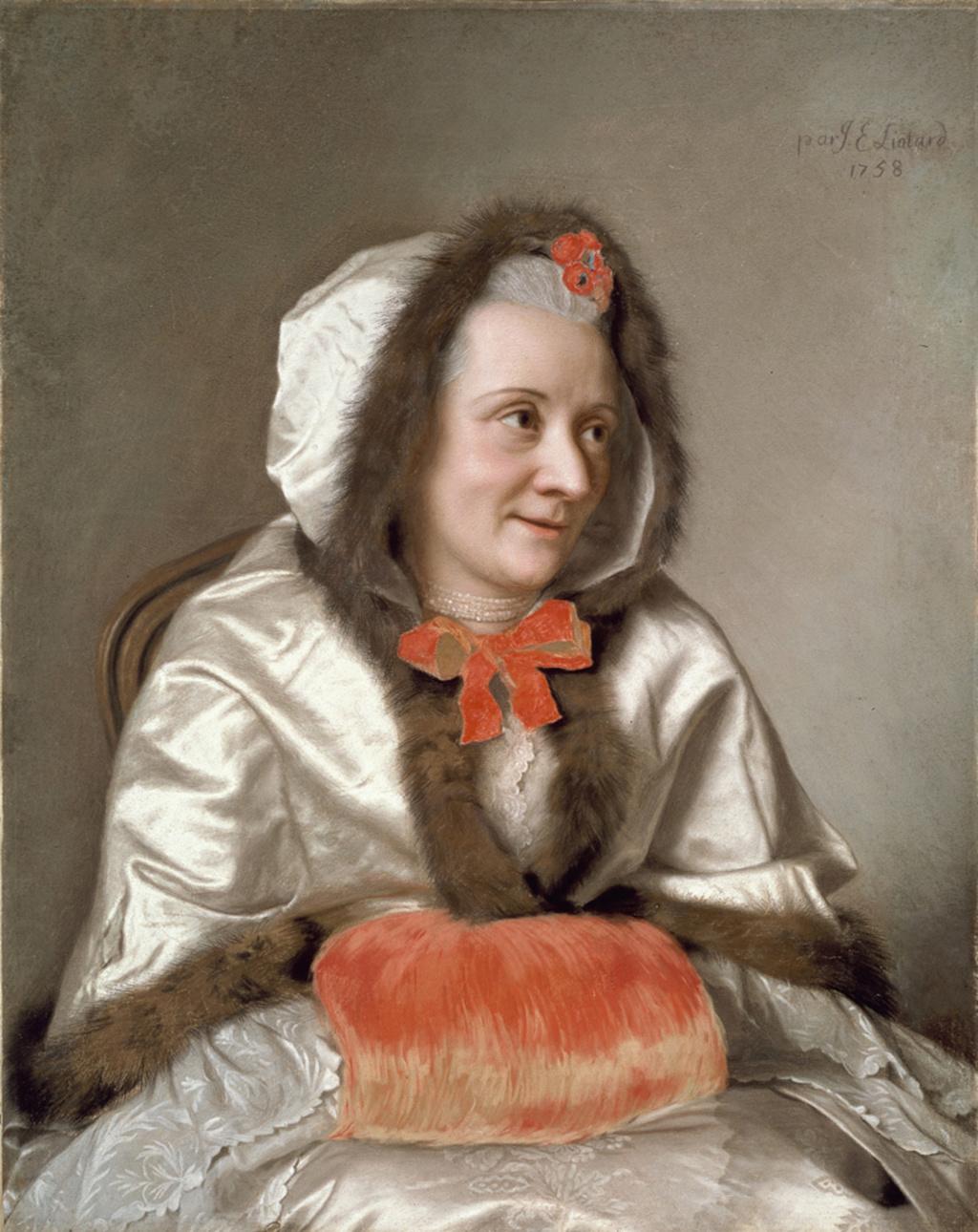 Galerie de portraits : Le manchon au XVIIIe siècle  - Page 2 2153