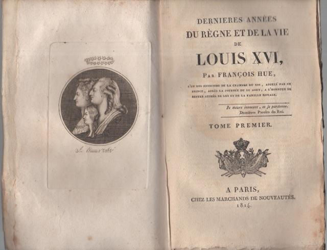 Huissier de la Chambre de Louis XVI :  François Hüe 2179