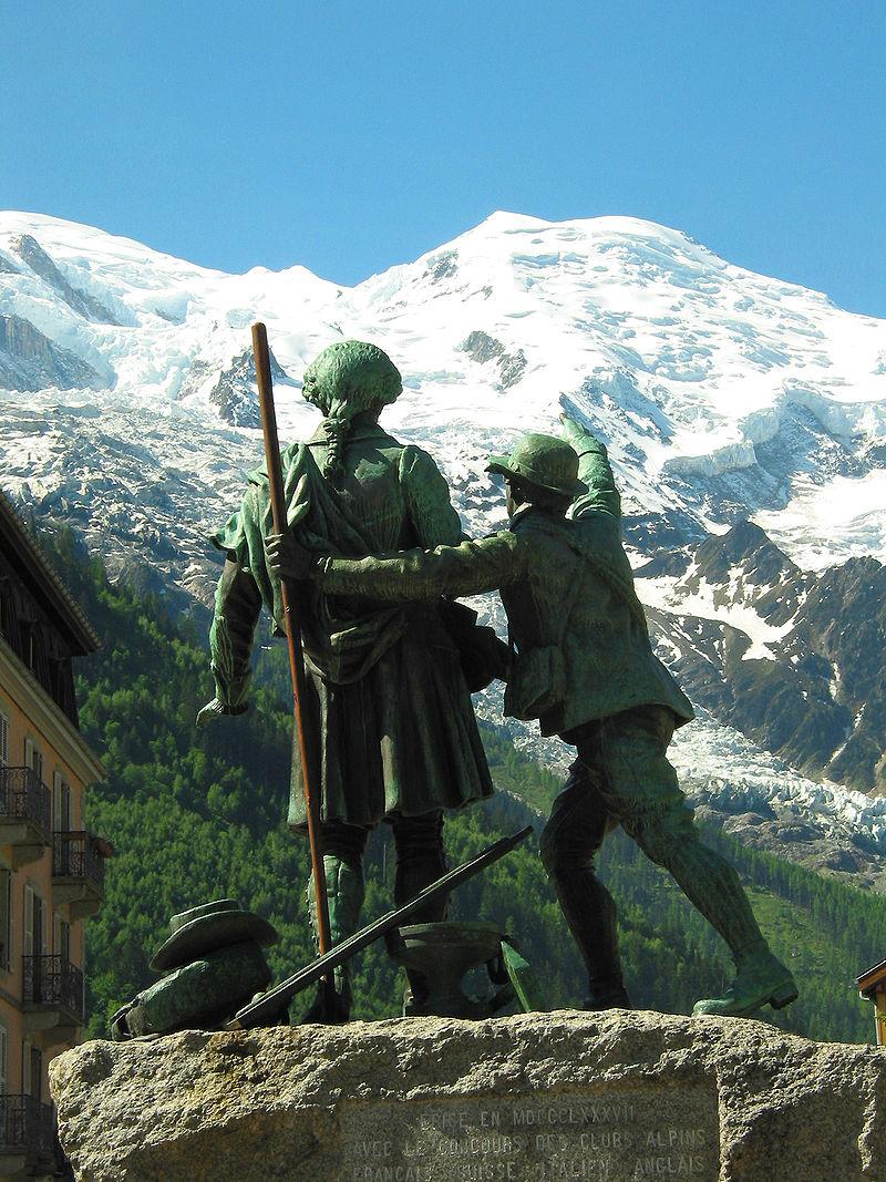 8 août 1786 : première ascension du Mont-Blanc, Jacques Balmat 2182