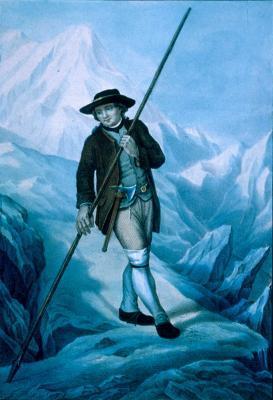 8 août 1786 : première ascension du Mont-Blanc, Jacques Balmat 2183