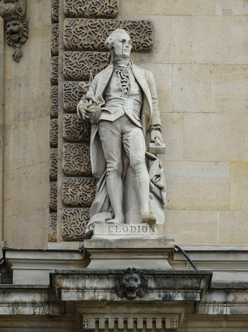 Le sculpteur Claude Michel, dit Clodion  (  1738 - 1814 ) 2286