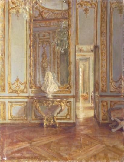 Henri de Nolhac, peintre de Versailles 2411
